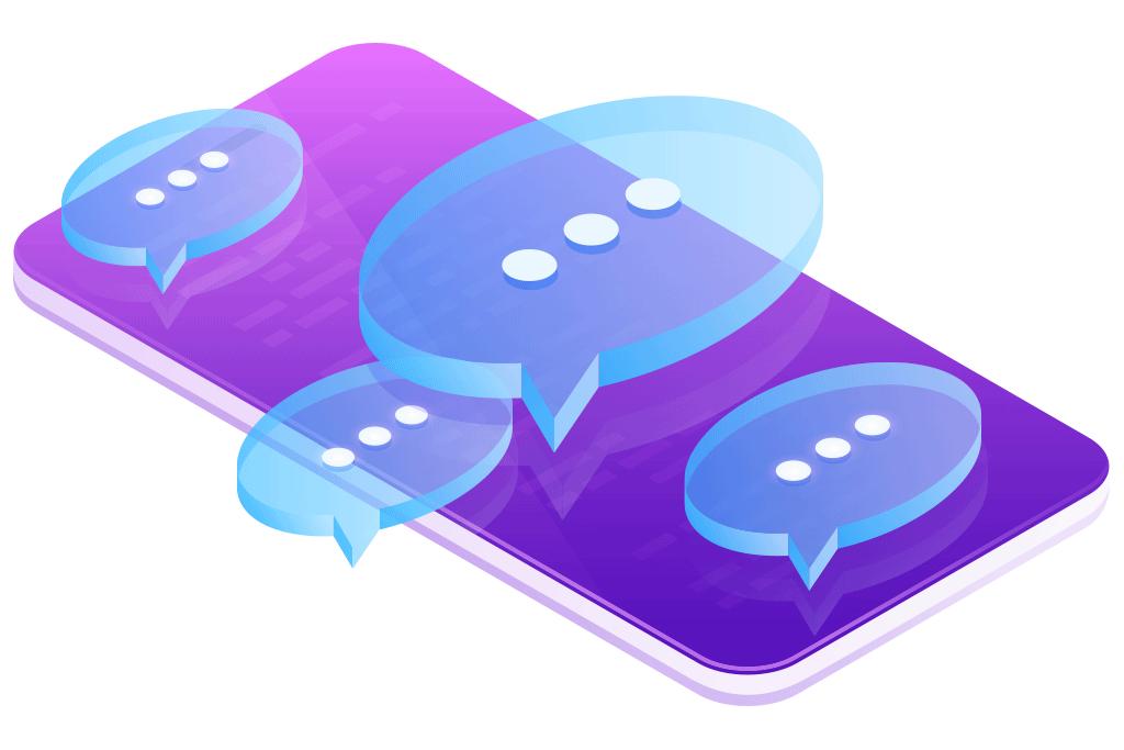 LiveChat (weiß) - Schule & Beruf